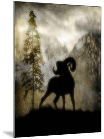 Mystic Big Horn-LightBoxJournal-Mounted Giclee Print
