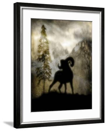 Mystic Big Horn-LightBoxJournal-Framed Giclee Print
