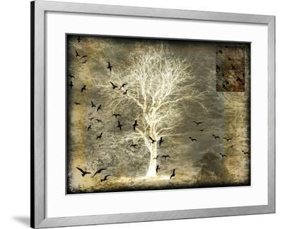 A Raven's World Spirit Tree-LightBoxJournal-Framed Giclee Print
