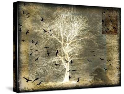 A Raven's World Spirit Tree-LightBoxJournal-Stretched Canvas Print