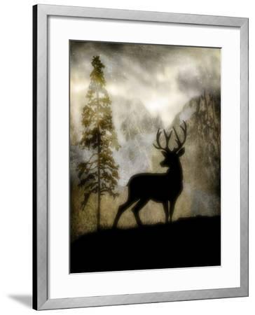 Mystic Deer-LightBoxJournal-Framed Giclee Print