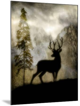 Mystic Deer-LightBoxJournal-Mounted Giclee Print