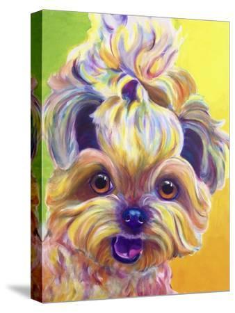 Bloom-Dawgart-Stretched Canvas Print