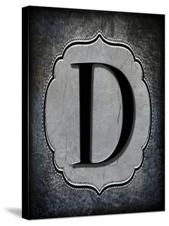 Letter D-LightBoxJournal-Stretched Canvas Print