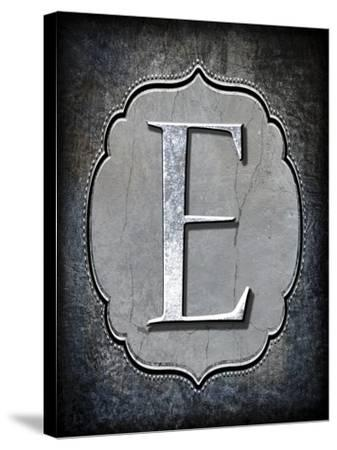 Letter E-LightBoxJournal-Stretched Canvas Print