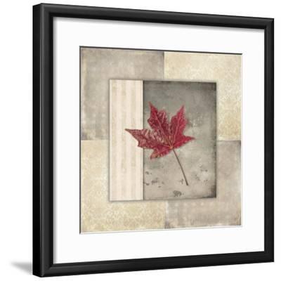 Lodge Leaf Tile 1-LightBoxJournal-Framed Giclee Print
