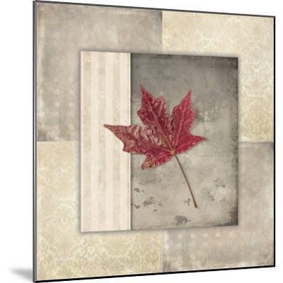 Lodge Leaf Tile 1-LightBoxJournal-Mounted Giclee Print