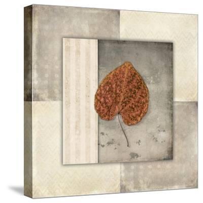 Lodge Leaf Tile 2-LightBoxJournal-Stretched Canvas Print