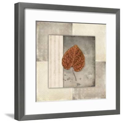 Lodge Leaf Tile 2-LightBoxJournal-Framed Giclee Print