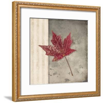 Lodge Leaf 1-LightBoxJournal-Framed Giclee Print