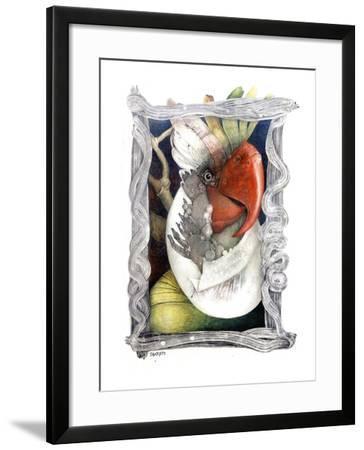 Parrot-Skarlett-Framed Giclee Print