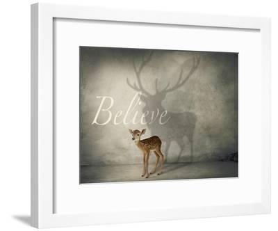 Believe #3-J Hovenstine Studios-Framed Giclee Print