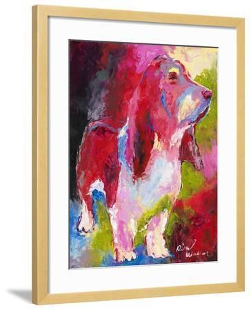 Red Head-Richard Wallich-Framed Giclee Print