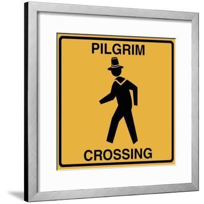 Pilgrim Crossing-Tina Lavoie-Framed Giclee Print
