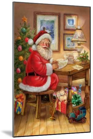Santa-Art House Design-Mounted Giclee Print