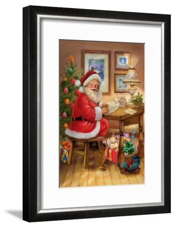 Santa-Art House Design-Framed Giclee Print