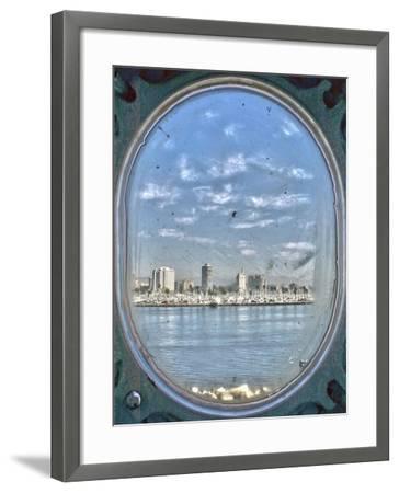 Porthole Views-Toula Mavridou-Messer-Framed Giclee Print