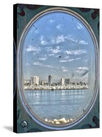 Porthole Views-Toula Mavridou-Messer-Stretched Canvas Print
