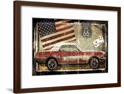 Road King-Mindy Sommers - Photography-Framed Giclee Print