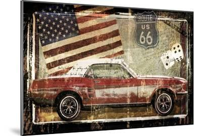 Road King-Mindy Sommers - Photography-Mounted Giclee Print