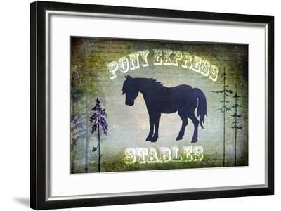 Country Horse I-LightBoxJournal-Framed Giclee Print