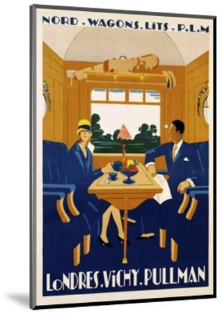 Travel Rail 0016-Vintage Lavoie-Mounted Giclee Print