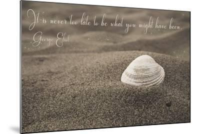 Never Too Late-Tina Lavoie-Mounted Giclee Print