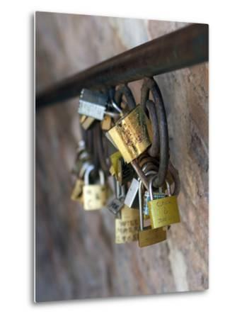 Love Locks-Toula Mavridou-Messer-Metal Print
