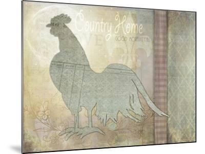 Morning Chicken 3-LightBoxJournal-Mounted Giclee Print