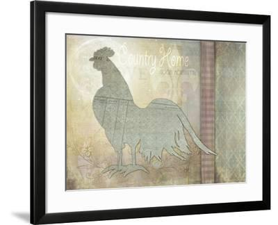 Morning Chicken 3-LightBoxJournal-Framed Giclee Print