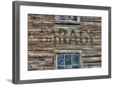 Garage Wall Sign-Robert Goldwitz-Framed Photographic Print