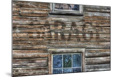 Garage Wall Sign-Robert Goldwitz-Mounted Photographic Print