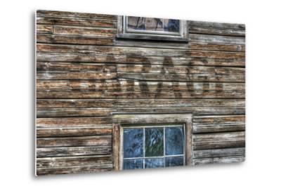 Garage Wall Sign-Robert Goldwitz-Metal Print