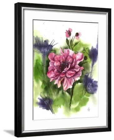 Watercolor Garden I-Irina Trzaskos Studio-Framed Giclee Print