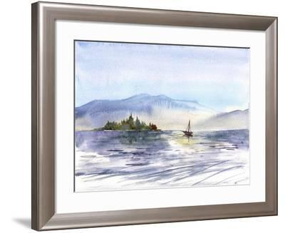 Coastal I-Irina Trzaskos Studio-Framed Giclee Print