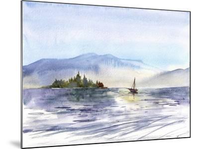 Coastal I-Irina Trzaskos Studio-Mounted Giclee Print