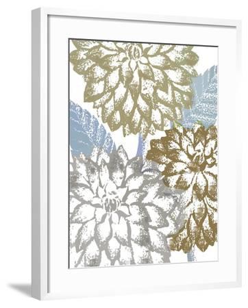 Sea Dahlias II-Color Bakery-Framed Giclee Print