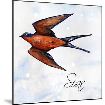 Bird Inspiration II-Irina Trzaskos Studio-Mounted Giclee Print