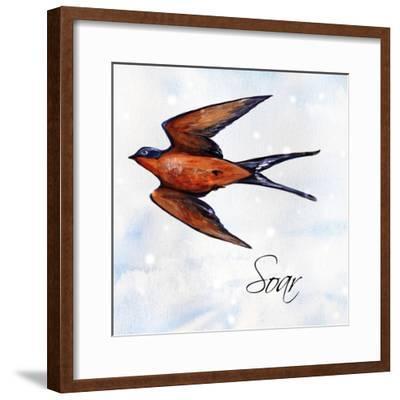 Bird Inspiration II-Irina Trzaskos Studio-Framed Giclee Print