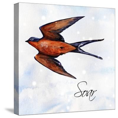 Bird Inspiration II-Irina Trzaskos Studio-Stretched Canvas Print