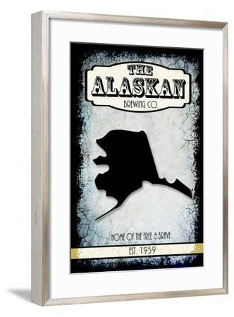 States Brewing Co Alaska-LightBoxJournal-Framed Giclee Print