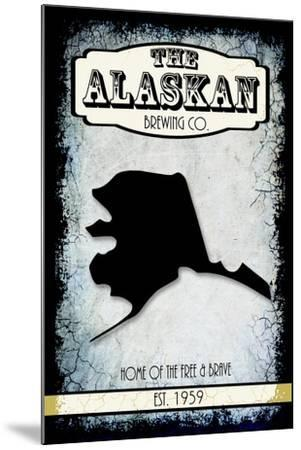 States Brewing Co Alaska-LightBoxJournal-Mounted Giclee Print