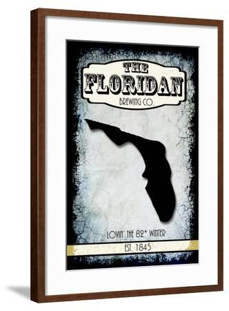 States Brewing Co Flordia-LightBoxJournal-Framed Giclee Print