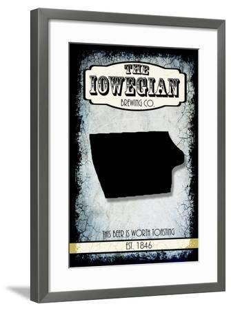 States Brewing Co Iowa-LightBoxJournal-Framed Giclee Print