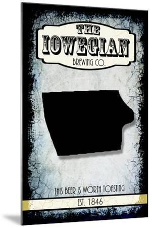 States Brewing Co Iowa-LightBoxJournal-Mounted Giclee Print