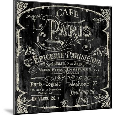 Paris Bistro VI-Color Bakery-Mounted Giclee Print