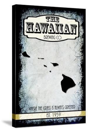 States Brewing Co Hawaii-LightBoxJournal-Stretched Canvas Print