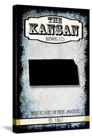 States Brewing Co Kansas-LightBoxJournal-Stretched Canvas Print