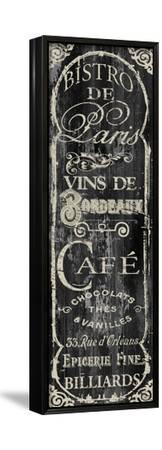 Paris Bistro VII-Color Bakery-Framed Stretched Canvas Print