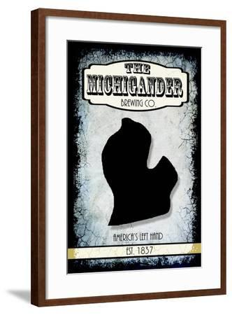 States Brewing Co Michigan-LightBoxJournal-Framed Giclee Print